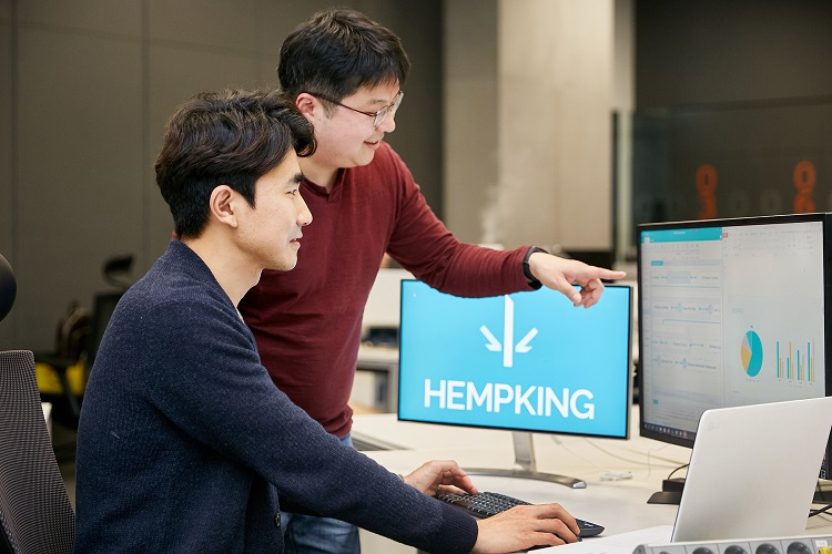 'HEMPKING' : the customs clearance company based on AI and RPA technology